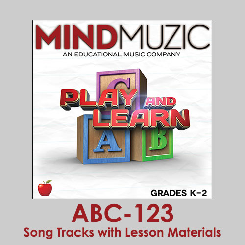 ABC-123 Downloadable Tracks with Lyrics and Quiz