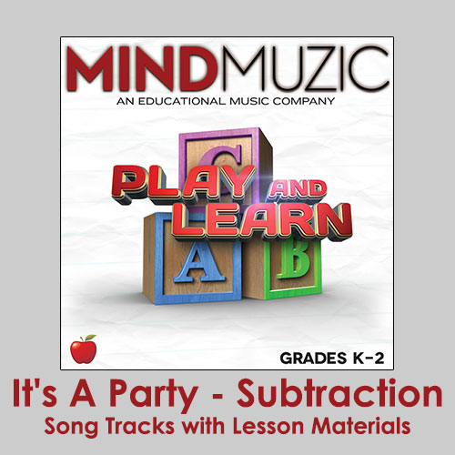 It's A Party - Subtraction Downloadable Tracks with Lyrics and Quiz
