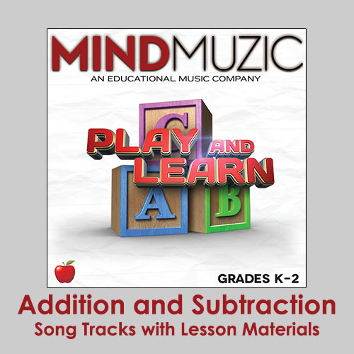 Addition and Subtraction Downloadable Tracks with Lyrics and Quiz