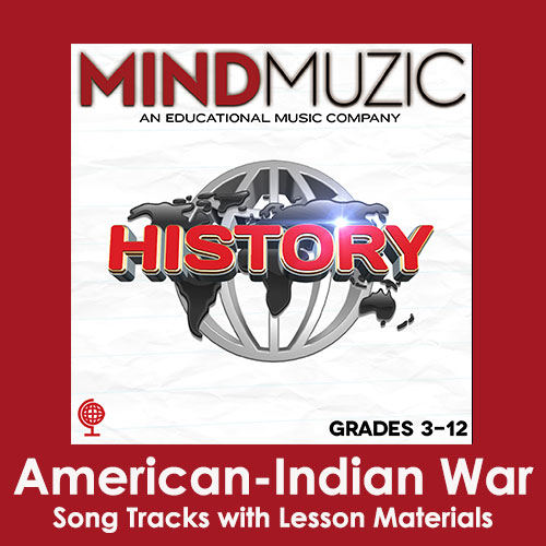 American-Indian War Downloadable Tracks with Lyrics and Quiz