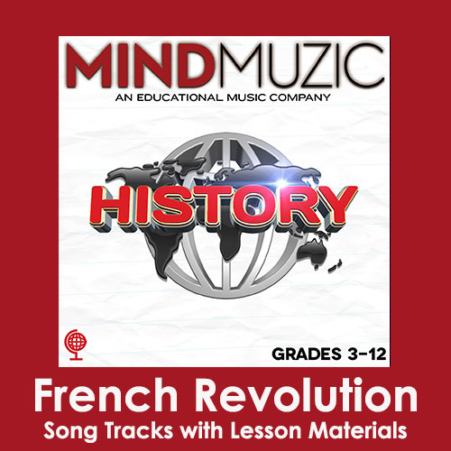 French Revolution Downloadable Tracks with Lyrics and Quiz