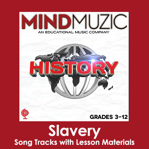 Slavery Downloadable Tracks with Lyrics and Quiz
