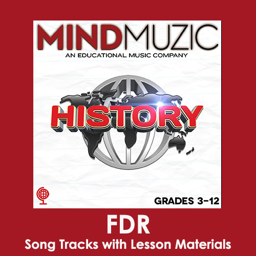 FDR Downloadable Tracks with Lyrics and Quiz