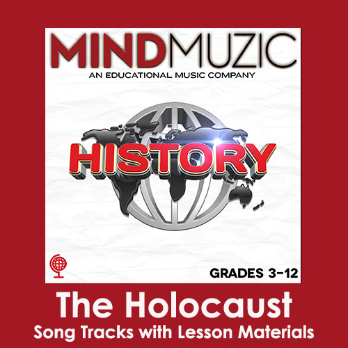 The Holocaust Downloadable Tracks with Lyrics and Quiz