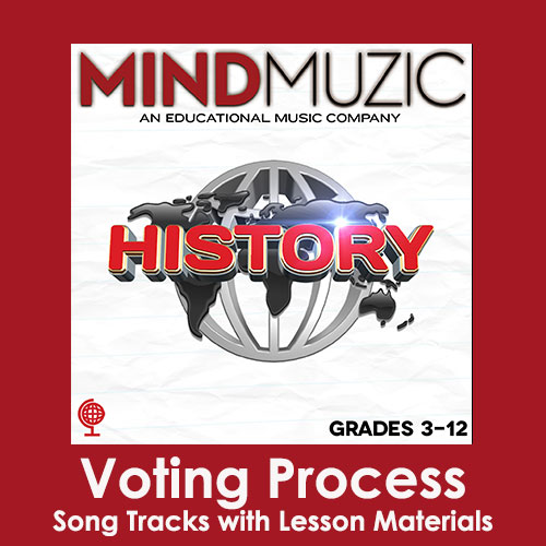 Voting Process Downloadable Tracks with Lyrics and Quiz