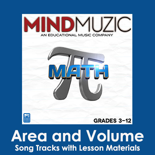 Area and Volume Downloadable Tracks with Lyrics and Quiz