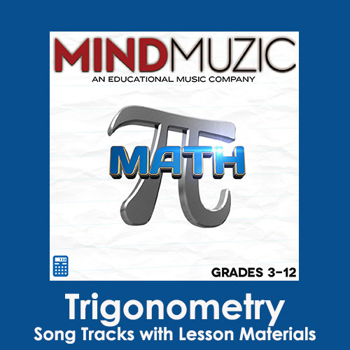 Trigonometry Downloadable Tracks with Lyrics and Quiz