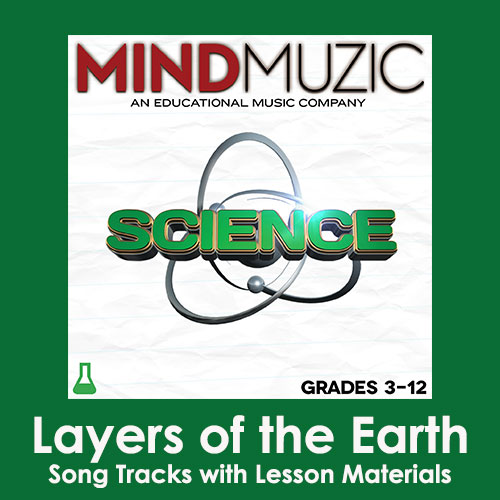 Layers of the Earth Downloadable Tracks with Lyrics and Quiz
