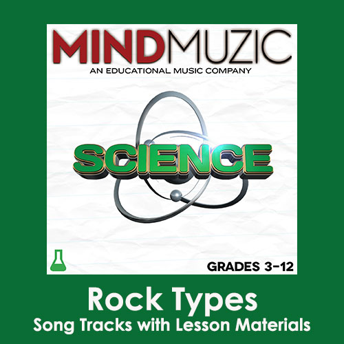 Rock Types Downloadable Tracks with Lyrics and Quiz