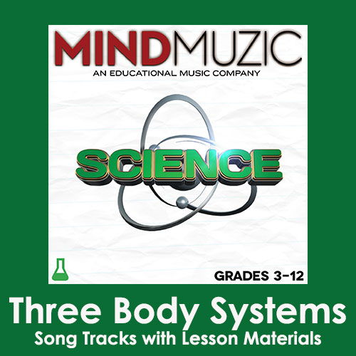 Three Body Systems Downloadable Tracks with Lyrics and Quiz