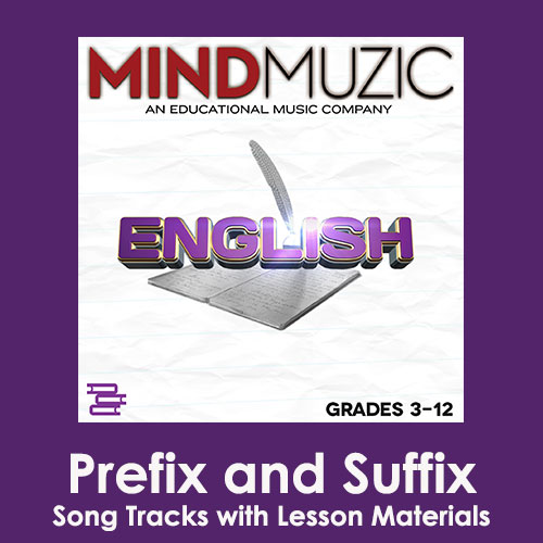Prefix and Suffix Downloadable Tracks with Lyrics and Quiz