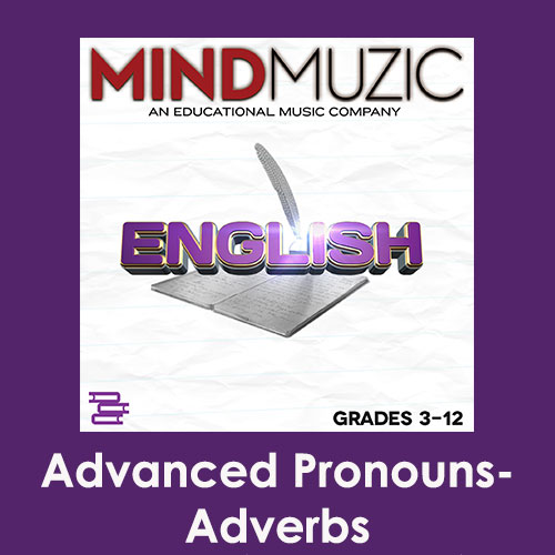 Advanced Pronouns-Adverbs Downloadable Tracks with Lyrics and Quiz