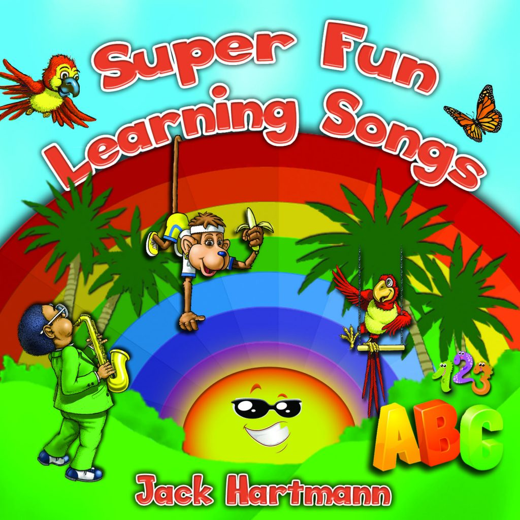 Jack Hartmann's Super Fun Learning Songs Music CD