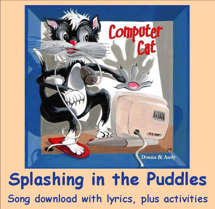 Splashing in the Puddles Song Download with Lyrics