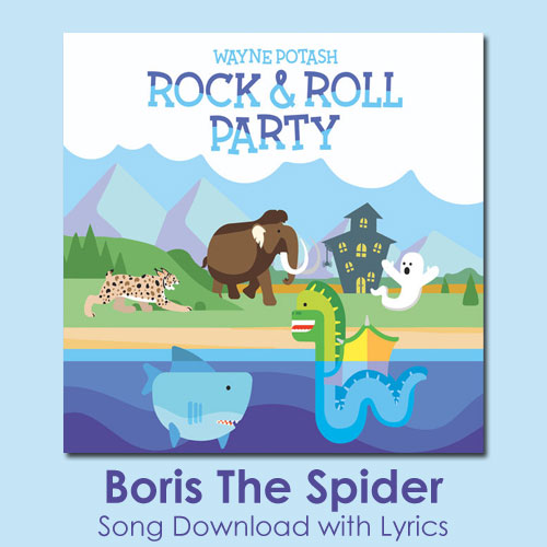 Boris The Spider Song Download with Lyrics