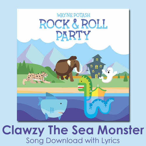 Clawzy The Sea Monster Song Download with Lyrics