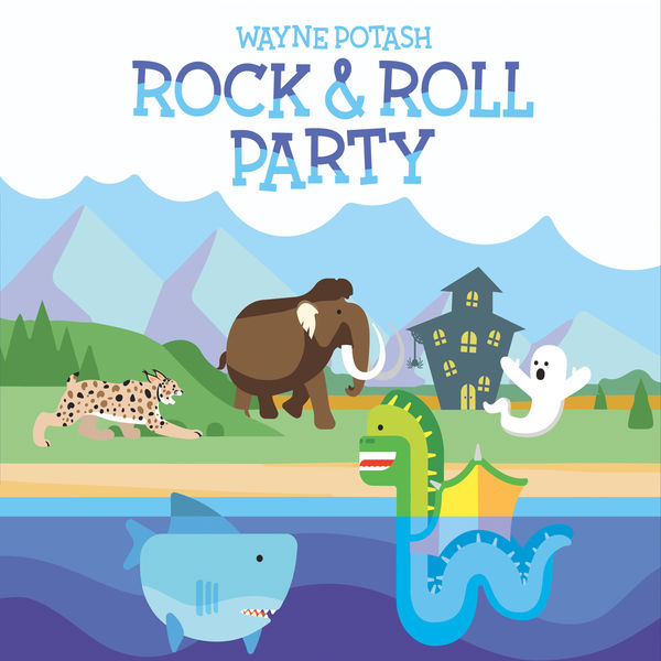 Wayne Potash: Rock & Roll Party Album Download with Lyrics