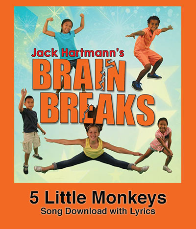 5 Little Monkeys Song Download with Lyrics
