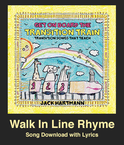 Walk In Line Rhyme Song Download with Lyrics