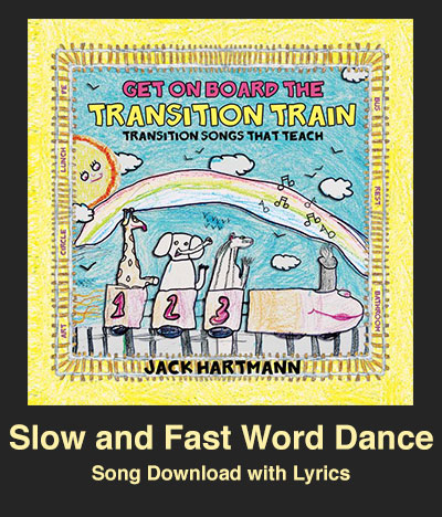 Slow and Fast Word Dance Song Download with Lyrics