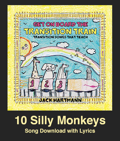 10 Silly Monkeys Song Download with Lyrics