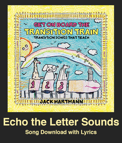Echo the Letter Sounds Song Download with Lyrics
