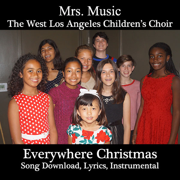 Everywhere Christmas Tonight Song Download with Lyrics