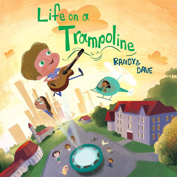 Life on a Trampoline CD with Lyrics