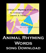 Animal Rhyming Words Song Download with Lyrics