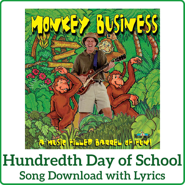 Hundredth Day of School Song Download with Lyrics