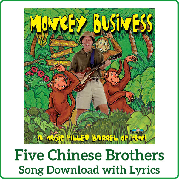 Five Chinese Brothers Song Download with Lyrics
