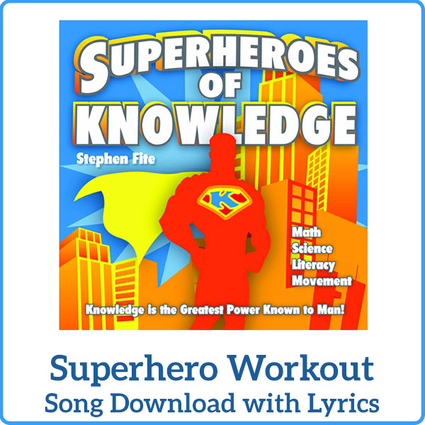 Superhero Workout Song Download with Lyrics