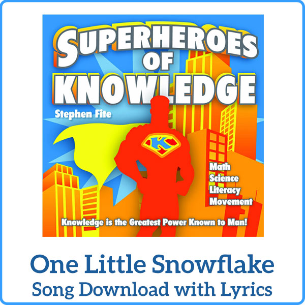 One Little Snowflake Download with Lyrics