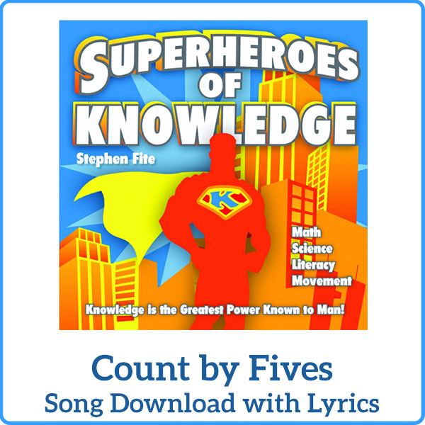 Count by Fives Tracks Download with Lyrics