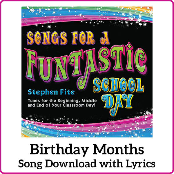 Birthday Months Song Download with Lyrics