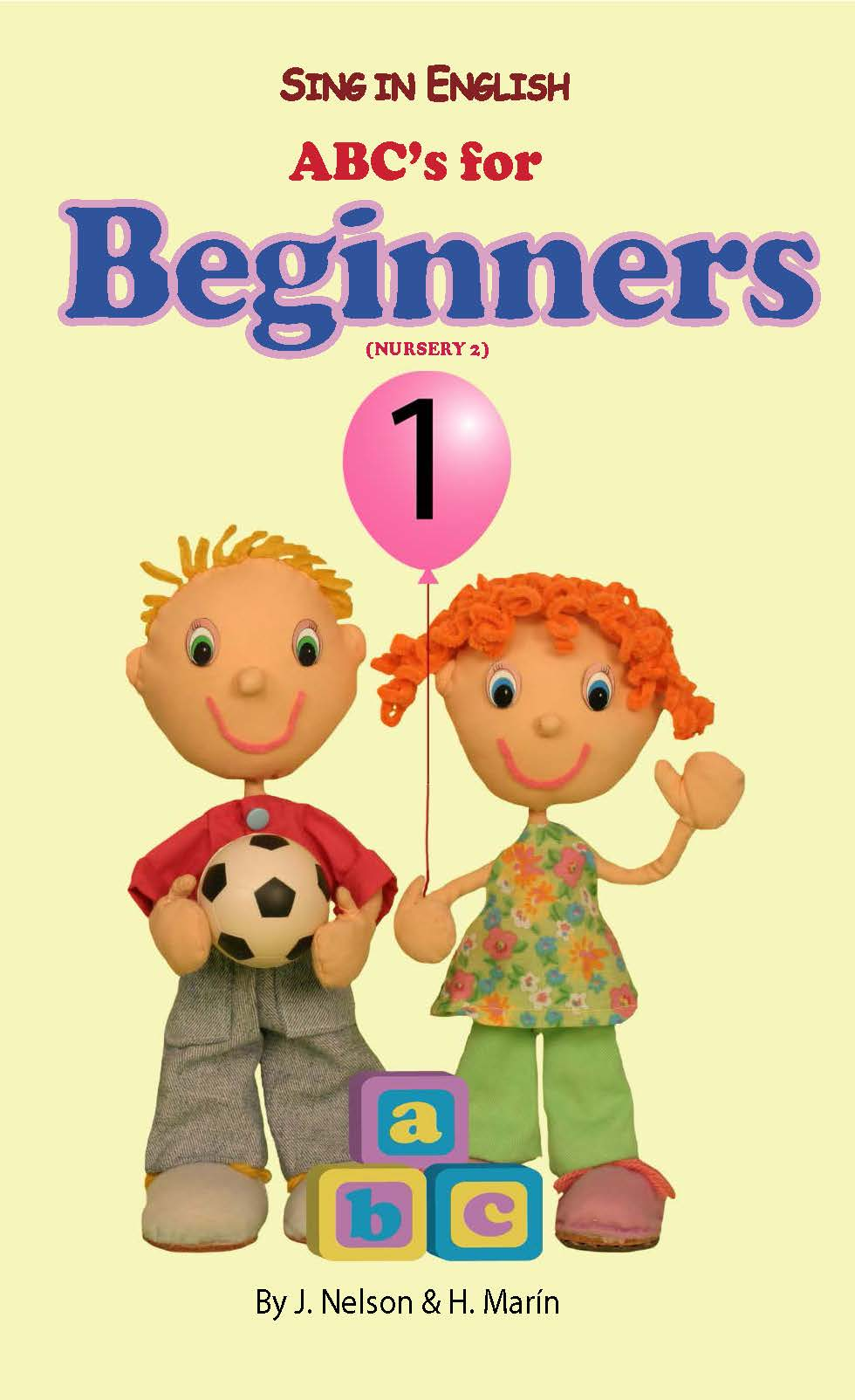 Sing in English ABC's for Beginners Volume 1 Downloadable Album-Book Set