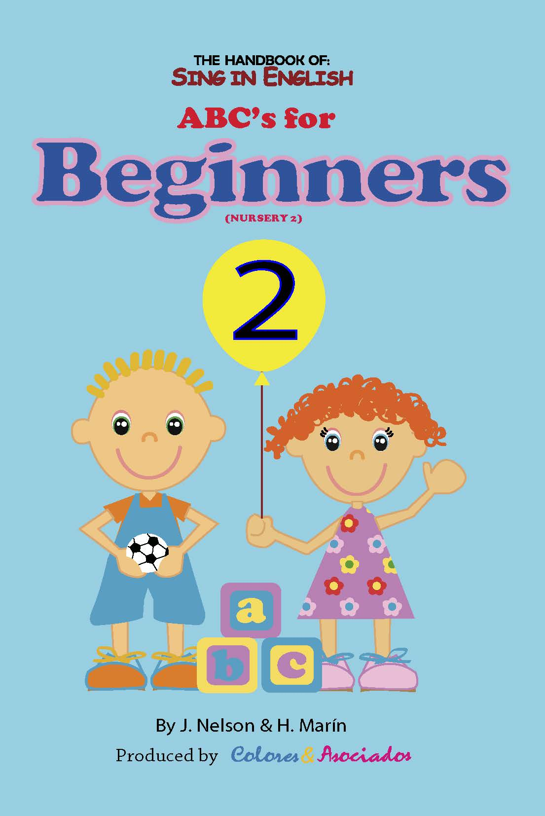Sing in English ABC's for Beginners Volume 2 Downloadable Album-Book Set