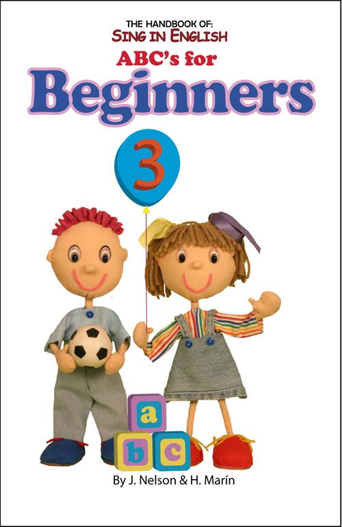 Sing in English ABC's for Beginners Volume 3 Downloadable Album-Book Set