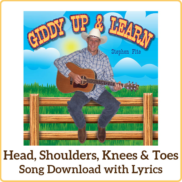 Head, Shoulders, Knees, & Toes Song Download with Lyrics