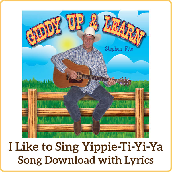 I Like to Sing Yippie-Ti-Yi-Ya Song Download with Lyrics