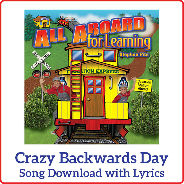 Crazy Backwards Day Song Download with Lyrics