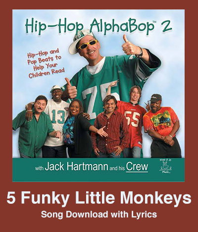5 Funky Little Monkeys Song Download with Lyrics