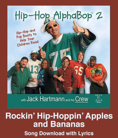 Rockin Hip-Hoppin Apples and Bananas Song Download with Lyrics