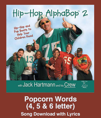 Popcorn Words (4, 5 & 6 letter) Song Download with Lyrics