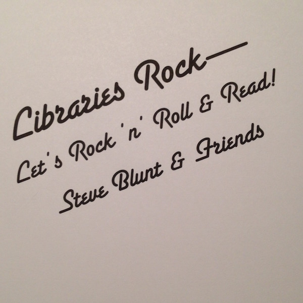 Libraries Rock! - Let's Rock n' Roll n' Read!