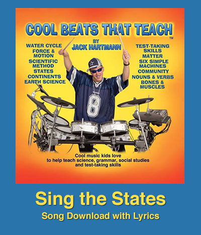 Sing The States Song Download With Lyrics Songs For Teaching