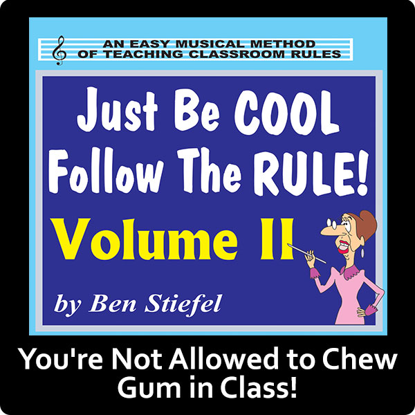 You're Not Allowed to Chew Gum in Class! Song Download with Lyrics