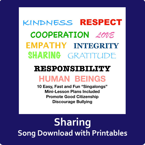 Sharing Song Download with Printables