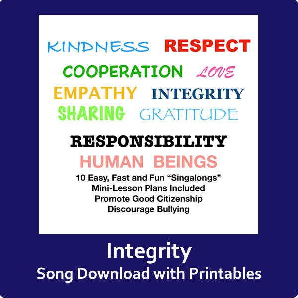 Integrity Song Download with Printables