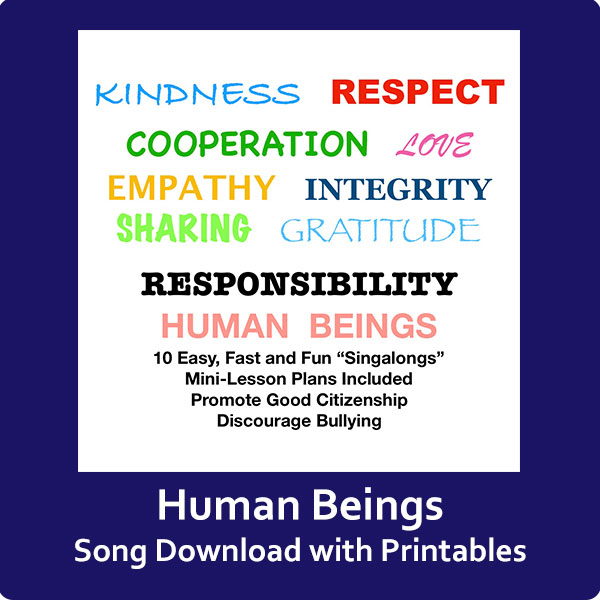 Human Beings Song Download with Printables